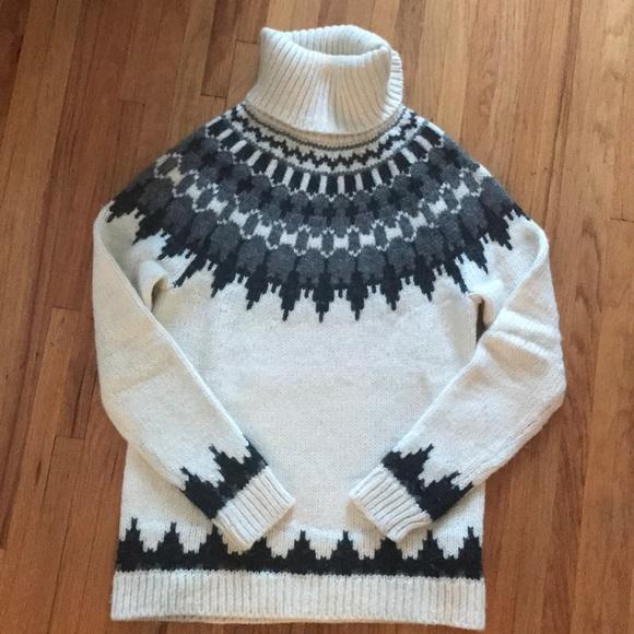 87% off GAP Sweaters - GAP Fair Isle Turtleneck Sweater from ...